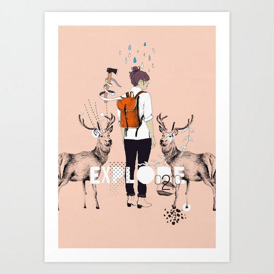 The Wilderness Art Print