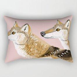 Totem Honshu Wolf Rectangular Pillow