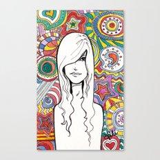 Colorful Mind Canvas Print