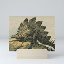 Stegosaurus Mini Art Print