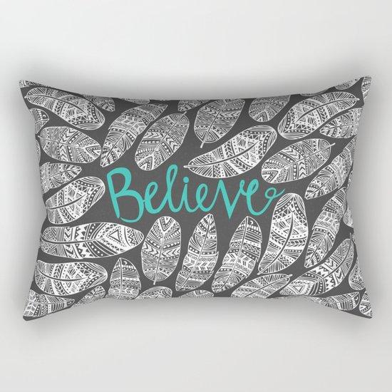 Believe II Rectangular Pillow