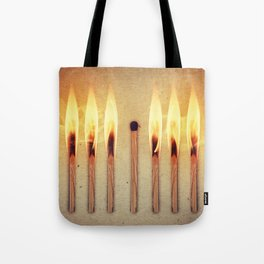 whole leader match Tote Bag