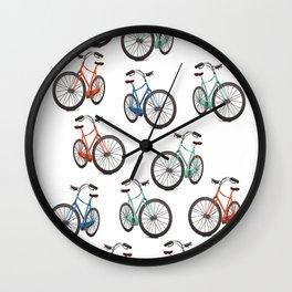 Vintage Cycling Wall Clock