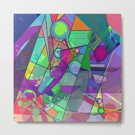 Searching for a New Angle Metal Print