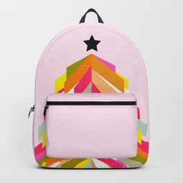 Rainbow Christmas Tree Backpack