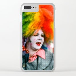 Frenchman Street Clown Clear iPhone Case
