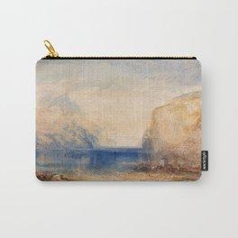 12,000pixel-500dpi - Fluelen Morning - Joseph Mallord William Turner Carry-All Pouch