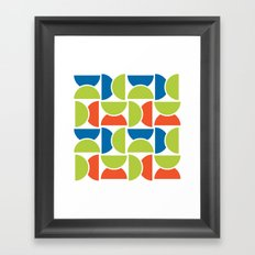 Lime Squeeze Framed Art Print