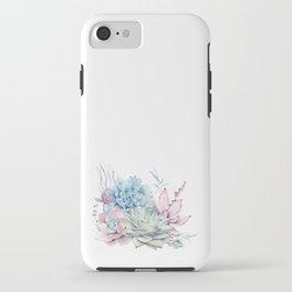 Pretty Pastel Succulents iPhone Case