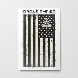 Drone Patriot  Metal Print