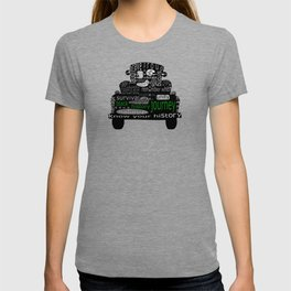Black History Journey T-shirt