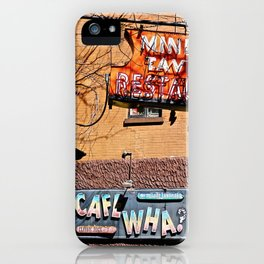 Signs of Greenwich Village, NYC iPhone Case