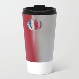 Patriotic Drop Metal Travel Mug