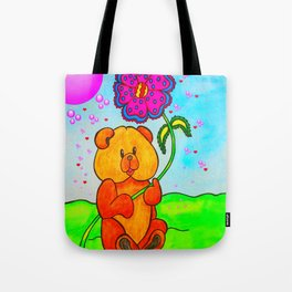 Dudley The Bear Tote Bag