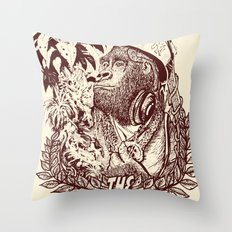 KILL THE KONG Throw Pillow