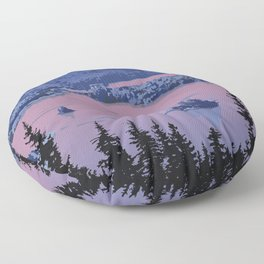 Parc National du Mont-Tremblant Floor Pillow