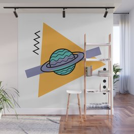 planet of the shapes Wall Mural