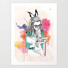 Aparências Art Print