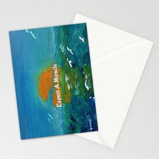 Expect A Miracle Stationery Cards