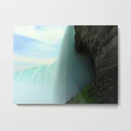 Inside Niagara Falls | Nadia Bonello Metal Print