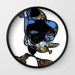 Profile of a Nature Lover Design - RegiaArt Wall Clock
