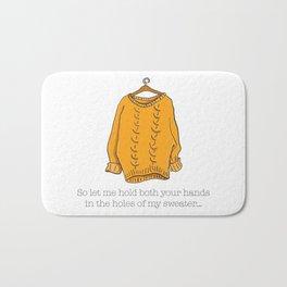 Sweater Weather Bath Mat