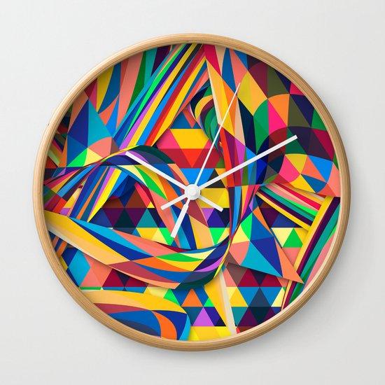 The Optimist Wall Clock