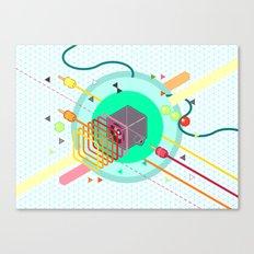 Tasty Visuals - Speaker Blast Canvas Print