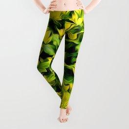 Painted Foliage Leggings