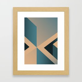A Certain Shade of Blue Framed Art Print
