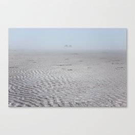 Ripples & Twin Rocks Canvas Print