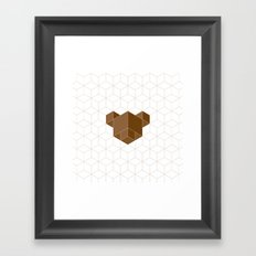 cubear Framed Art Print