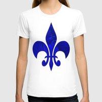 renaissance T-shirts featuring Renaissance Blue by Charma Rose
