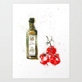 Cucina italiana Art Print