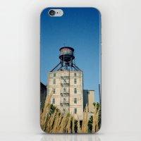 portland iPhone & iPod Skins featuring Portland by Richard PJ Lambert