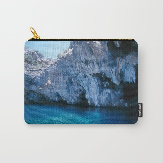 NATURE'S WONDER #5 - BLUE GROTTO (Turkey) #2 #art #society6 Carry-All Pouch