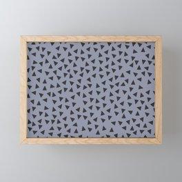 Graphic Fanny Pack | Triangles | Geometric Framed Mini Art Print