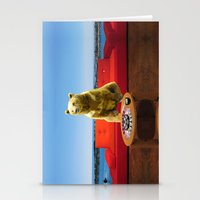 bleach Stationery Cards featuring Bleach Blonde Bear by Bemular