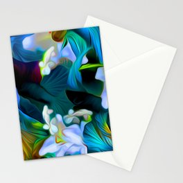 Languid Blue Comfort Stationery Cards