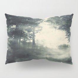 Misty pine forest Pillow Sham