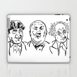 Stooges Moe, Curly and Larry Laptop & iPad Skin