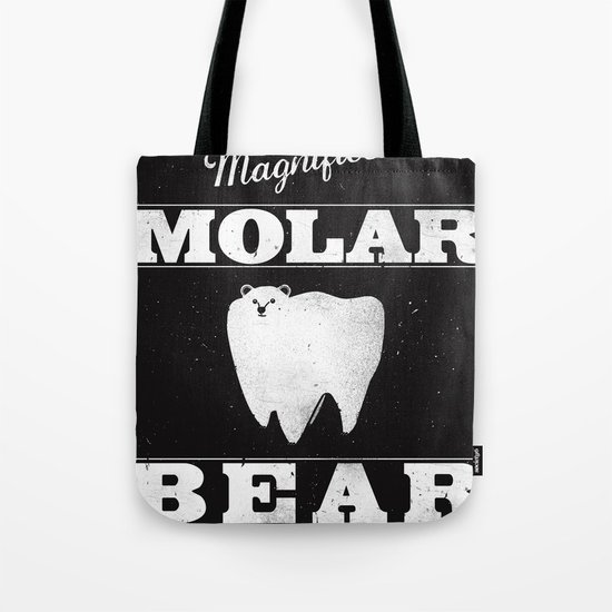 Molar Bear (Gentlemen's Edition) Tote Bag