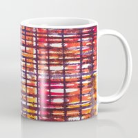 plaid Mugs featuring Plaid by Selkiesong