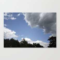 Clouds #1 Canvas Print