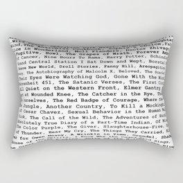 Banned Literature Internationally Print Rectangular Pillow