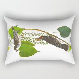 Tyrant Fly-catcher Bird Rectangular Pillow