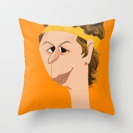Michael Cera Throw Pillow