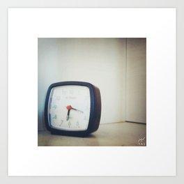 Clock! Art Print