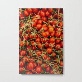campio de' Fiori tomatoes Metal Print