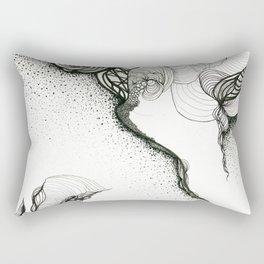Creeping corners Rectangular Pillow